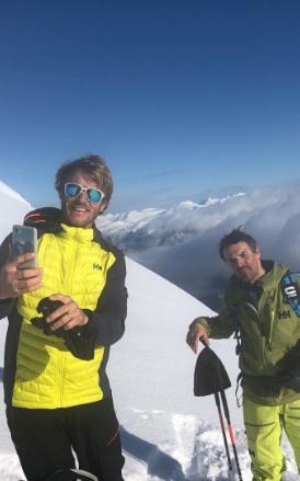 Aurelien Ducroz en montagne