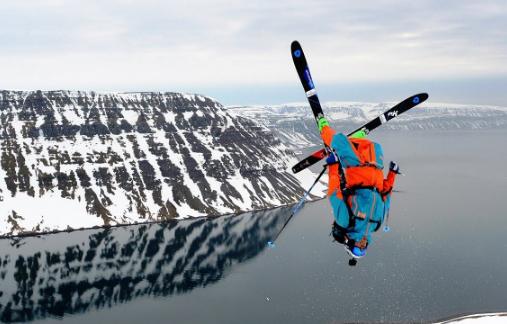 Aurelien Ducroz en ski